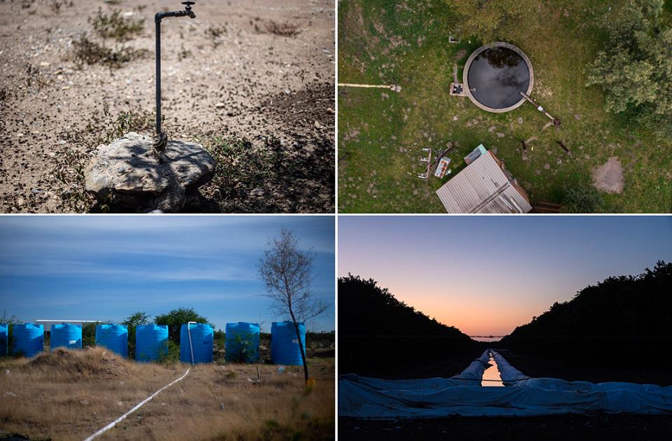 Empresarios acaparan volúmenes de agua suficientes para atender una comarca.