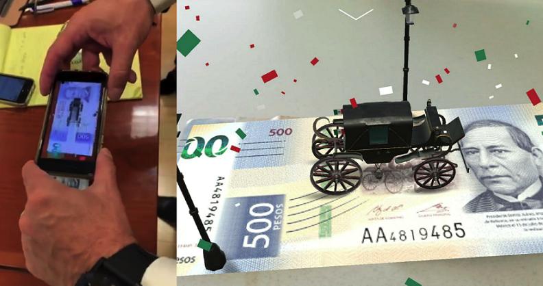 La vida útil de los billetes mexicanos es de aproximadamente cuatro años.