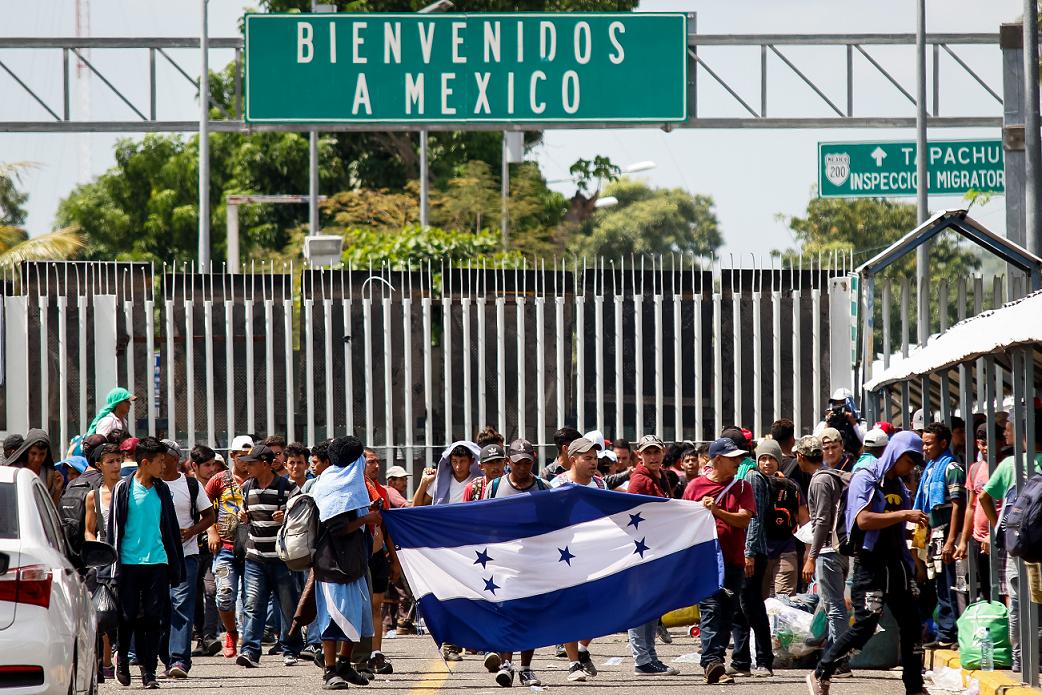 México confirma política de contención y criminalización hacia los migrantes.