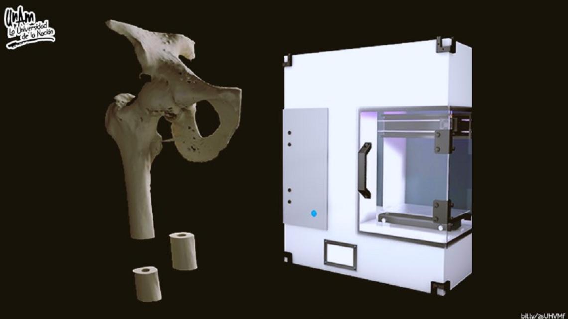 IMPRESORA 3D PARA REPLICAR HUESOS CON MATERIALES BIODEGRADABLES