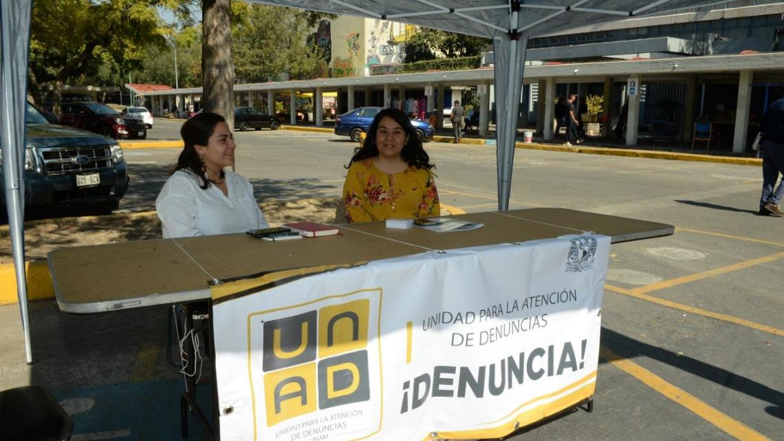 MESAS DE LA UNIDAD DE ATENCIÓN A DENUNCIAS