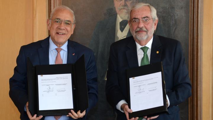 FORTALECEN UNAM Y OCDE ALIANZA ACADÉMICA