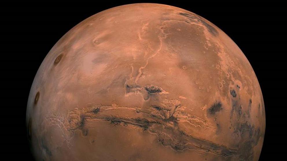 También se forma en la atmósfera y subsuelo marcianos.