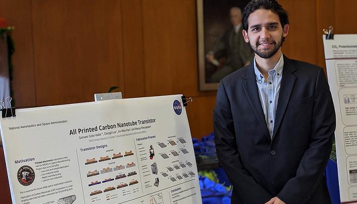REALIZA UNIVERSITARIO ESTANCIA DE INVESTIGACIÓN EN LA NASA