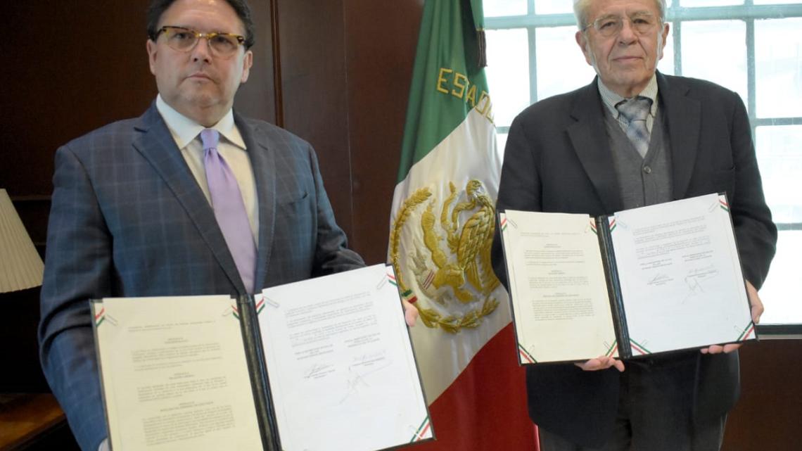 MÉXICO Y REPÚBLICA DE ECUADOR FIRMAN MEMORANDO DE ENTENDIMIENTO EN MATERIA DE SALUD