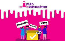 """""""FARO DEMOCRÁTICO"""", FORMACIÓN CÍVICA DEL PAÍS"""