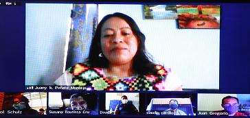 POETA CH'OL, GANADORA DEL PREMIO DE LITERATURAS INDÍGENAS DE AMÉRICA 2020