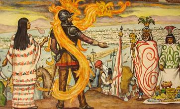 LA HISTORIA DE LA CONQUISTA ES DISTINTA DE LO QUE CONOCEMOS