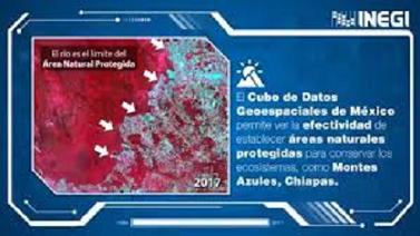 EL CUBO DE DATOS GEOESPACIALES DE MÉXICO