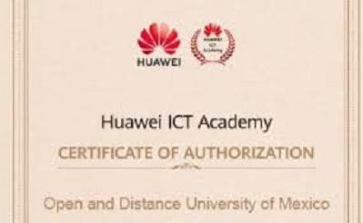 OBTIENE UNADM REGISTRO DE HUAWEI ICT ACADEMY
