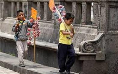 ENTI 2019: EN MÉXICO 3.3 MILLONES DE 5 A 17 AÑOS TRABAJAN