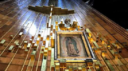 LA VIRGEN DE GUADALUPE, SÍMBOLO DOMINANTE EN LA RELIGIOSIDAD MEXICANA