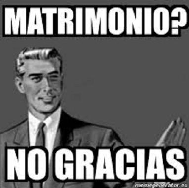 ¿MATRIMONIO?