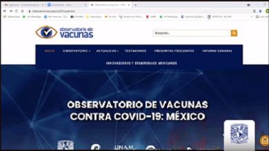 """LA PLATAFORMA VIRTUAL """"OBSERVATORIO DE VACUNAS CONTRA LA COVID 19: MÉXICO"""""""