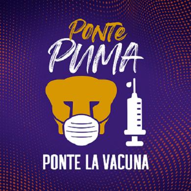 """PROMUEVE VACUNACIÓN: """"PONTE PUMA, PONTE LA VACUNA"""""""