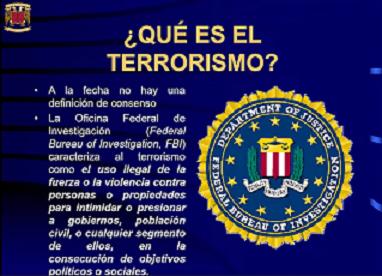 ¿CÓMO HA EVOLUCIONADO EL TERRORISMO?